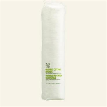 The Body Shop Organic Cotton Rounds 100 Pads
