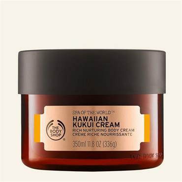 The Body Shop Spa Of The World Hawaiian Kukui Cream 350ml