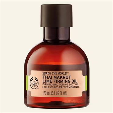 The Body Shop Spa Of The World Thai Makrut Lime Firming Oil 170ml