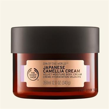 The Body Shop Spa Of The World Japanese Camellia Cream 350ml