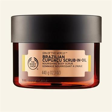 The Body Shop Spa Of The World Brazilian Cupuacu Scrub-In-Oil 440g