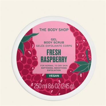 The Body Shop Fresh Raspberry Gel Body Scrub 250ml