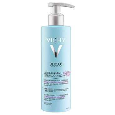 Vichy Dercos Ultra Soothing High-Tolerance Cleansing Cream 250ml