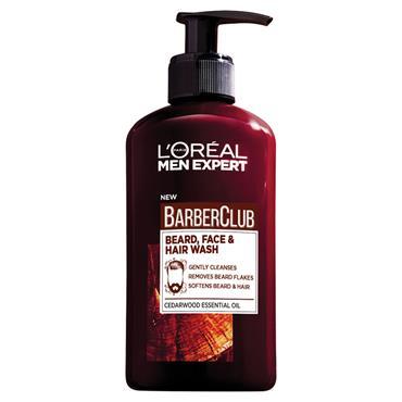 L'Oreal Men Expert Barber Club Beard, Face & Hair Wash