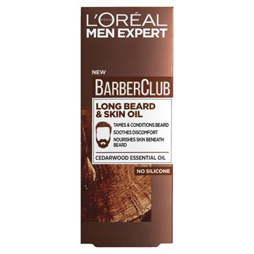 L'Oreal Men Expert Barber Club Long Beard & Skin Oil 30ml