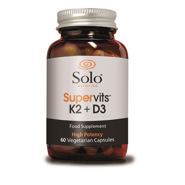 Solo Supervits K2+D3 60 Capsules