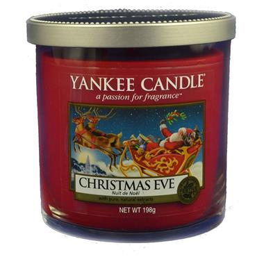 Yankee Candle Christmas Eve Pillar Small