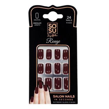 SOSU Salon Nails - Rouge