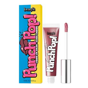 BENEFIT Punch Pop Liquid Lip Color Pink Berry