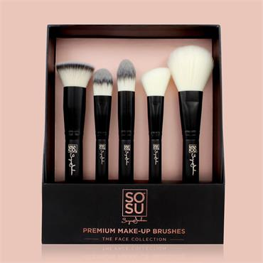 SOSU The Face Collection 5 Piece Brush Set