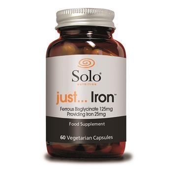 Solo Just Iron 60 Capsules