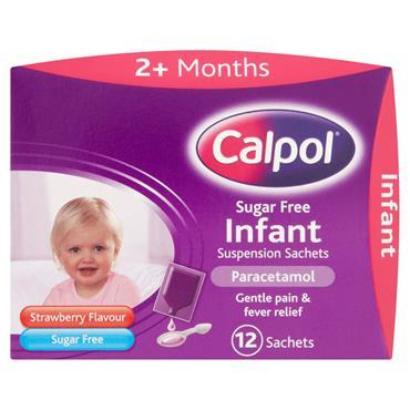 Calpol 2+mths sachets 12's