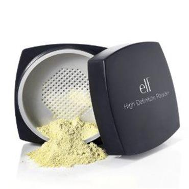 Elf Cosmetics HD Powder - Corrective Yellow