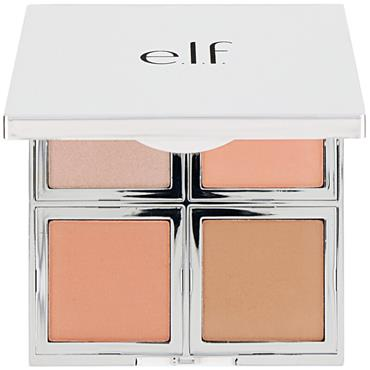 Elf Cosmetics Beautifully Bare Natural Glow Face Palette - Fresh & Flawless