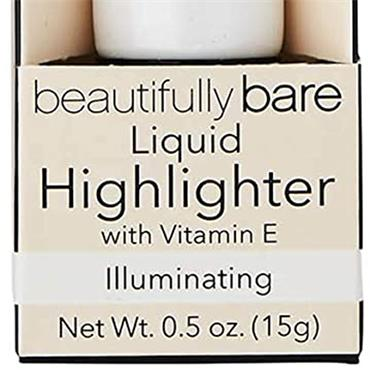 Elf Cosmetics Beautifully Bare Liquid Highlighter With Vit E Illuminating