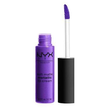 NYX Matte Metallic Lip Cream - Havana