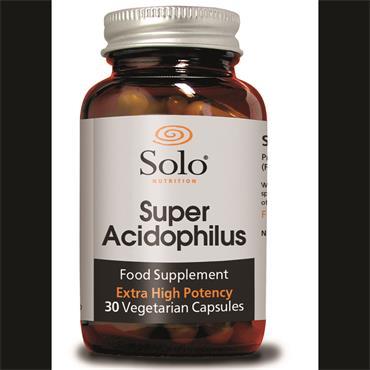 Solo Super Acidophilus 30 Capsules