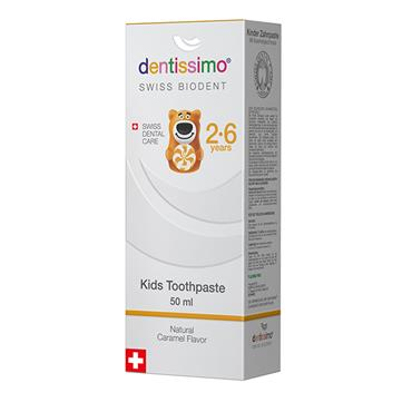 Dentissimo Toothpaste Kids  2-6 Years 50ml