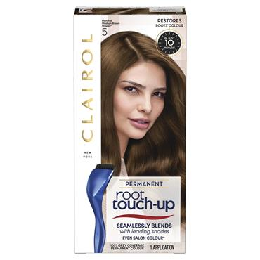 Clairol Permanent Root Touch Up - 5 Matches Medium Brown Shades