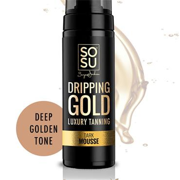 SOSU Dripping Gold Luxury Tanning Mousse - Dark 150ml
