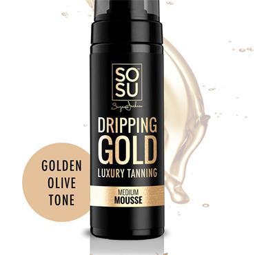SOSU Dripping Gold Luxury Tanning Mousse - Medium 150ml
