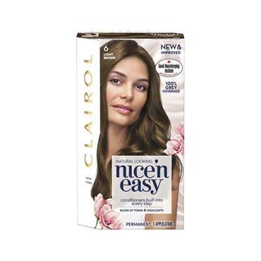 Clairol Nice ' N Easy Permanent Hair Dye - 6 Light Brown