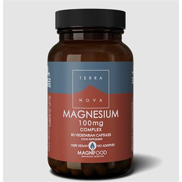 Terranova Magnesium 100mg Complex 50 Capsules