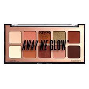 NYX Away We Glow Eye Shadow Palette - Lovebeam