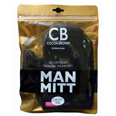 COCOA BROWN Deluxe Tanning Man Mitt (Black)