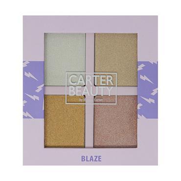 Carter Beauty Highlighter Palette Blaze