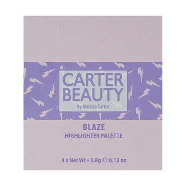 Carter Beauty Highlighter Palette Blaze