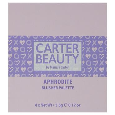 Carter Beauty Blusher Palette Aphrodite
