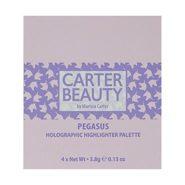 Carter Beauty Highlighter Palette Pegasus