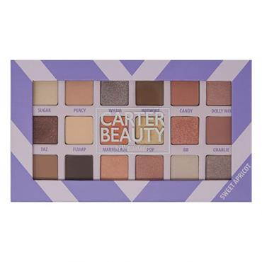 Carter Beauty 18 Shade Eye Palette - Sweet Apricot