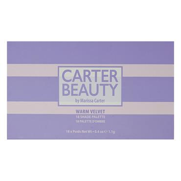 Carter Beauty 18 Shade Eye Palette - Warm Velvet