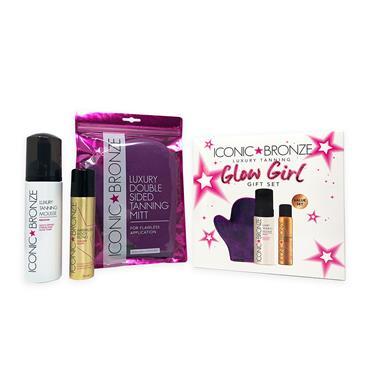 Iconic Bronze Medium Glow Girl Gift set