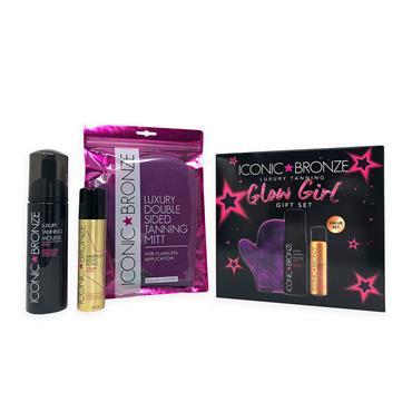 Iconic Bronze Dark Glow Girl Gift set