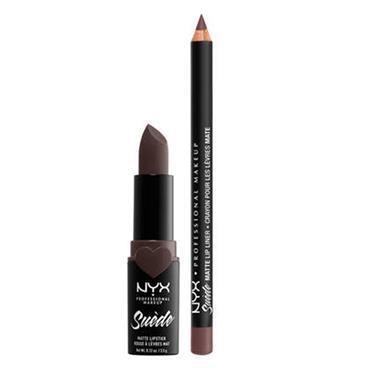 NYX Suede Matte Lip Liner - Moonwalk