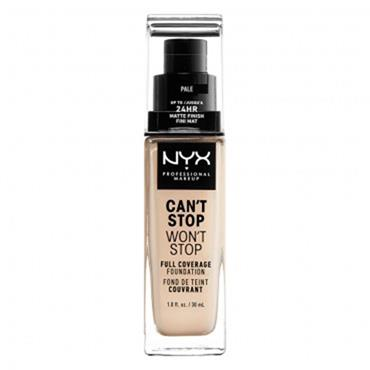 NYX Cant Stop Wont Stop 24-Hour Foundation - Nude
