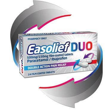 Easolief Duo Paracetamol/Ibuprofen 24's