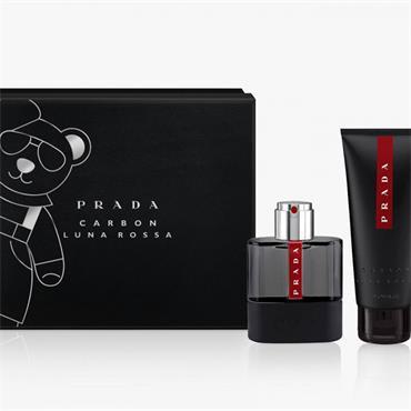 Prada Luna Rossa Carbon 100ml Eau De Toilette Set