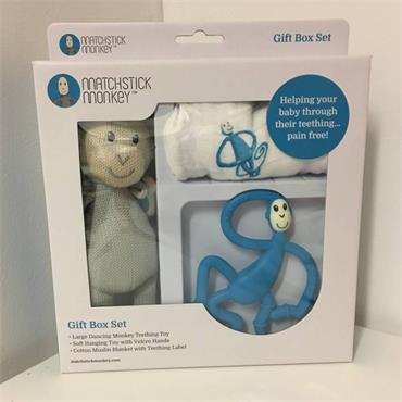 Matchstick Monkey Box Gift Set Blue