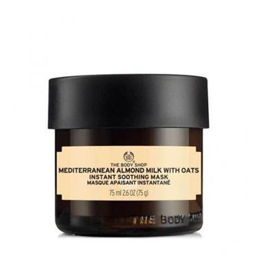 THE BODY SHOP Mediterranean Almond Milk With Oats Soothing Mask