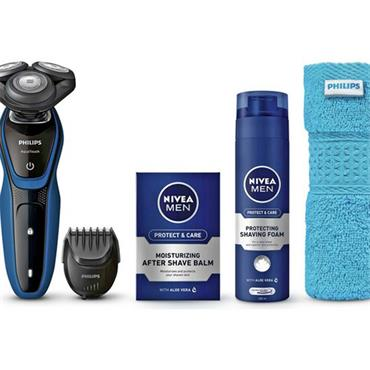 Philips 5000 Men's Razor Nivea Kit
