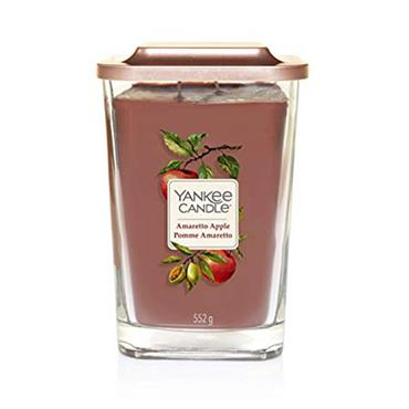 Yankee Candle Amaretto Apple Square Large