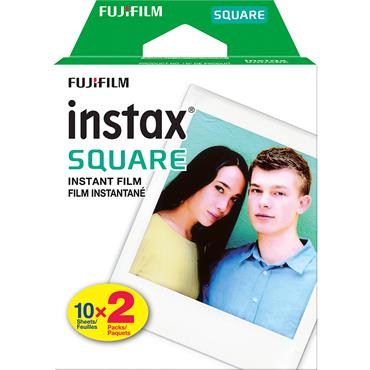 Fuji Instax Square Instant Film 10 Sheets X2
