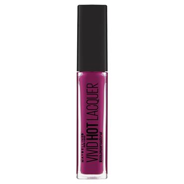 Maybelline Vivid Hot Lacquer Liquid Lipstick Obsessed