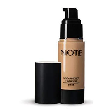 Note Detox & Protect Foundation 116 Golden Beige