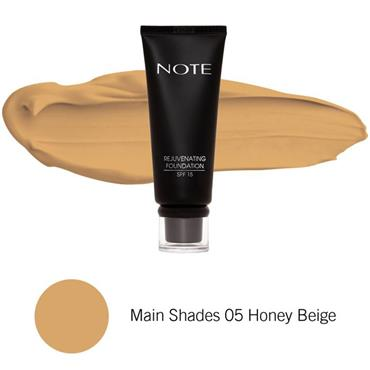 Note Rejuvenating Foundation 05 Honey Beige