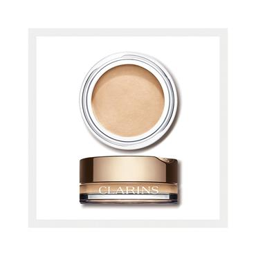 Clarins Ombre Velvet 01 White Shadow